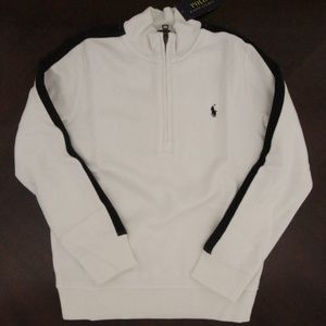 Ralph Lauren PIma Fleece Pullover Sweater Sz 7 NEW